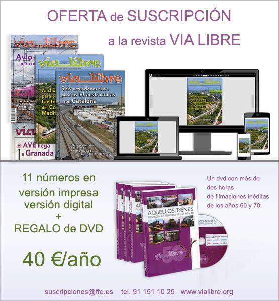 Oferta suscripción Revista Vía Libre